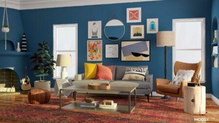 desain interior eclectic