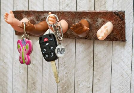 key holder diy