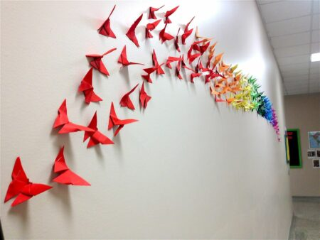 kreasi kertas origami