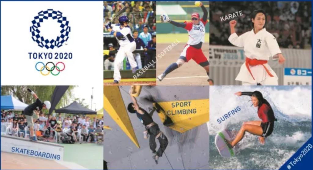 fakta olimpiade tokyo 2020 - cabang olahraga baru