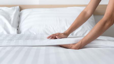 rapikan tempat tidur 5 menit