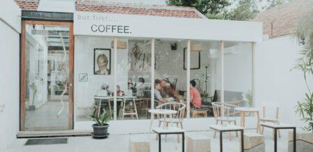 kafe putih