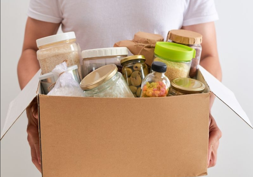 kegiatan positif selama corona - sumbangan makanan