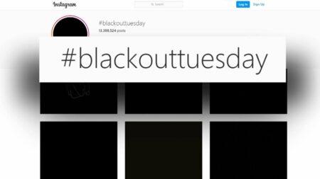 Apasih pergerakan #Blackouttuesday?
