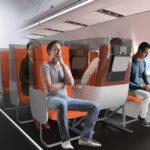 desain kabin pesawat janus