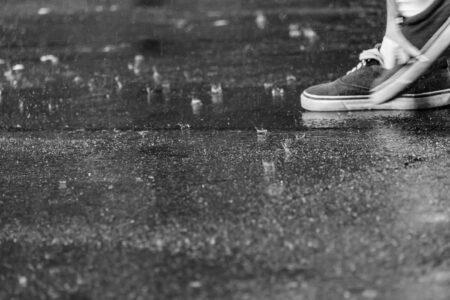kaki musim hujan