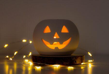 diy dekorasi halloweenn