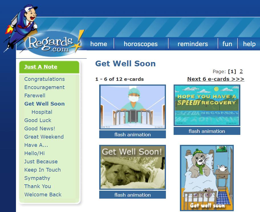 Regards .com Website pembuat kartu ucapan