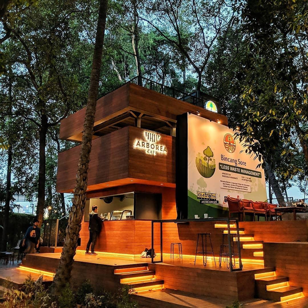arborea cafe - hidden gem jakarta