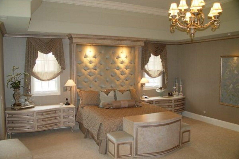 kamar tidur dekorasi glam hollywood