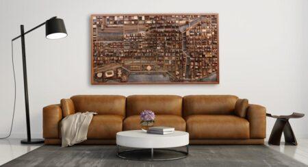 Dekorasi cokelat untuk ruangan