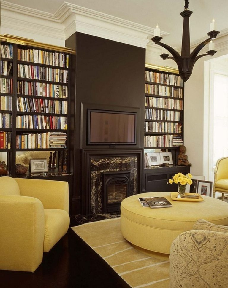Ide dekorasi ruangan warna cokelat