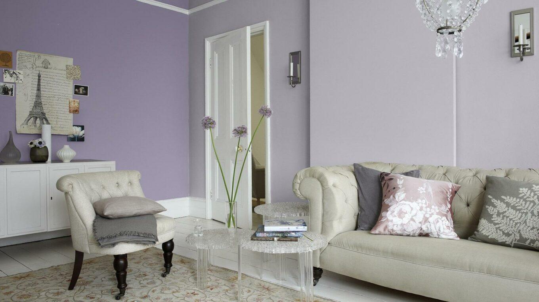 inspirasi desain ruang lilac