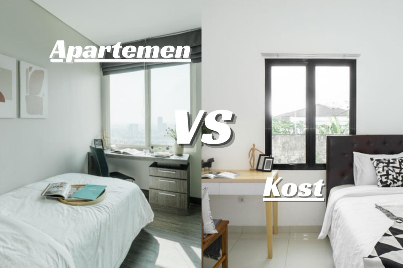 apartemen atau kost rukita