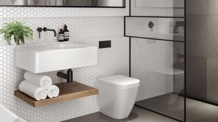 trik desain kamar mandi sempit
