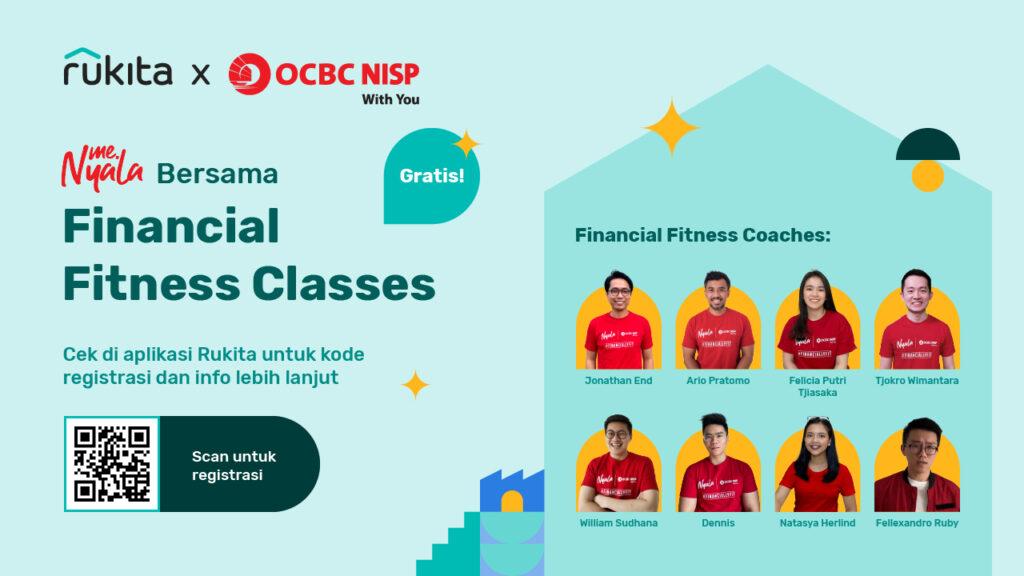 Financial Fitness Classes OCBC x Rukita