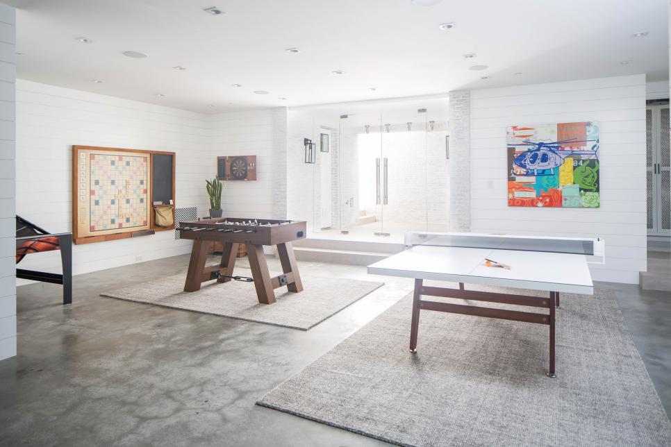 inspirasi game room di ruang komunal