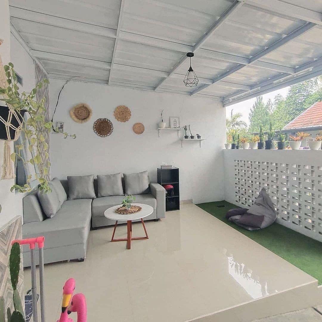 inspirasi ruang tamu di teras
