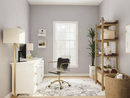 dekorasi warna home office