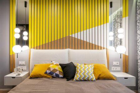 warna kuning kamar tidur