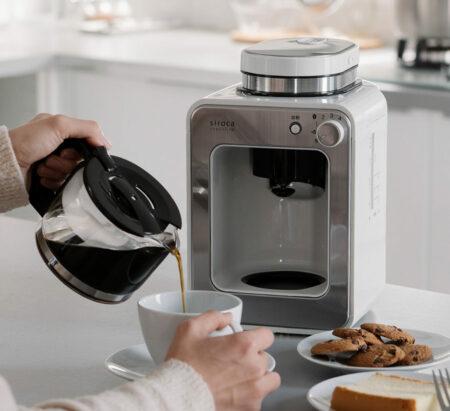 Coffee maker di rumah