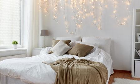 Inspirasi Dekorasi Kamar dengan Lampu Tumblr